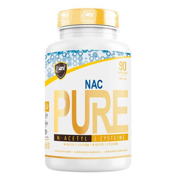 Nac - 90 capsules MTX Nutrition - 1