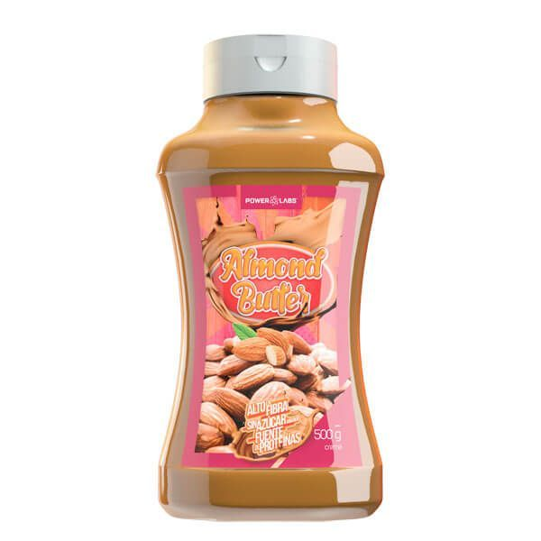 Almond cream - 500g Power Labs - 1