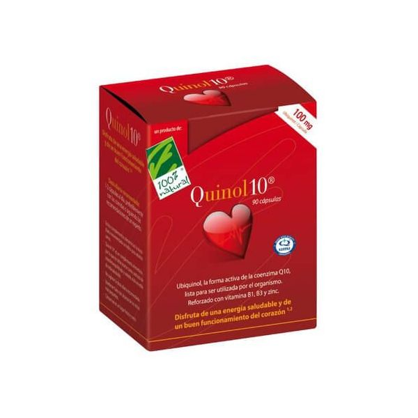 Quinol10 100mg - 30 capsule 100%Natural - 1