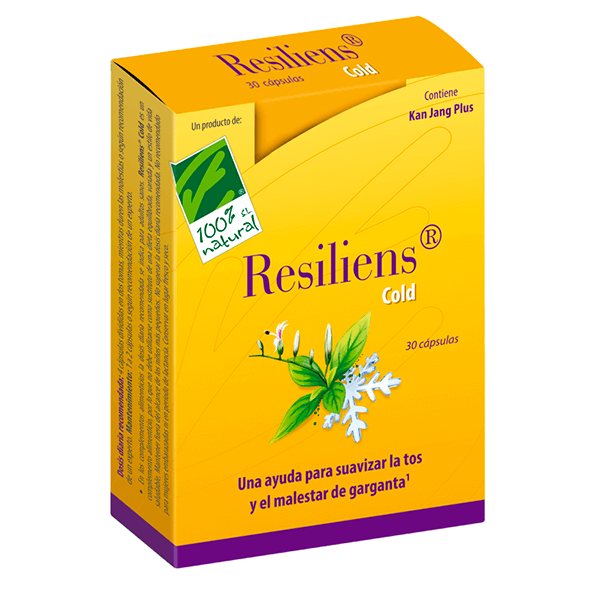 Resilliens cold - 30 capsule 100%Natural - 1