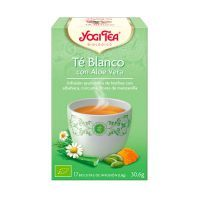 White tea with aloe vera - 17 sachets Yogi Organic - 1