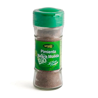 Jar of ground black pepper eco - 45gr Artemis BIO - 1