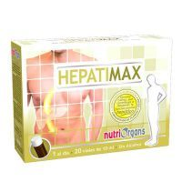 NutriOrgans Hepatimax  - 20 frascos Tongil - 1