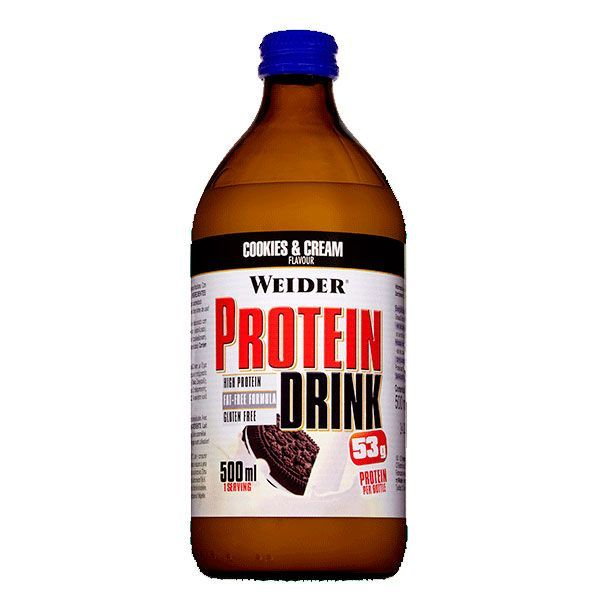 Protein drink - 500ml Weider - 2