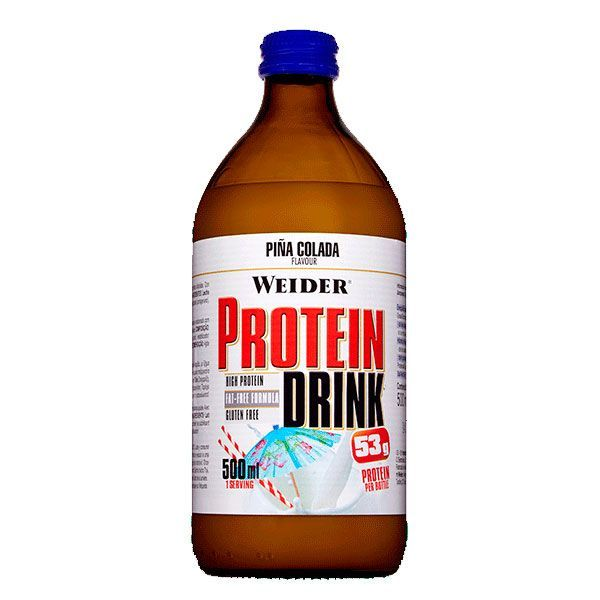 Protein drink - 500ml Weider - 4