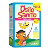 Sanito teddy fish omega 3 - 50 jelly bean Tongil - 1