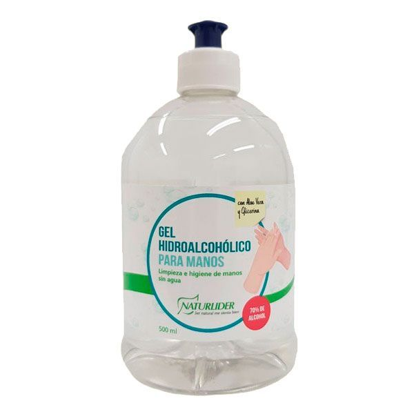 Hand sanitizing gel - 500ml NaturLíder - 1