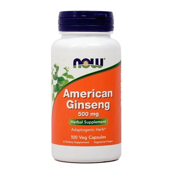 Ginseng Américain 500mg - 100 capsules Now Foods - 1