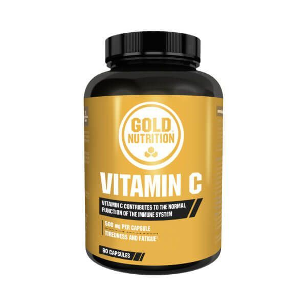 Vitamin c 500mg - 60 capsules GoldNutrition - 1