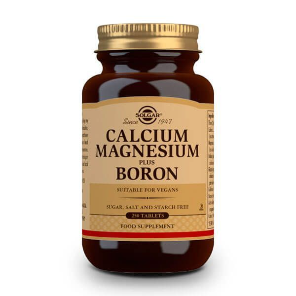 Calcium magnesium plus boron - 250 tablets Solgar - 1