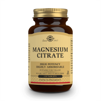 Magnesium Citrate - 120 Tablets Solgar - 1