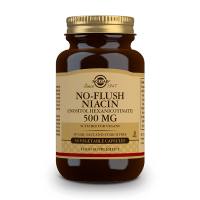 No Flush Niacina 500mg - 50 Cápsulas Vegetais