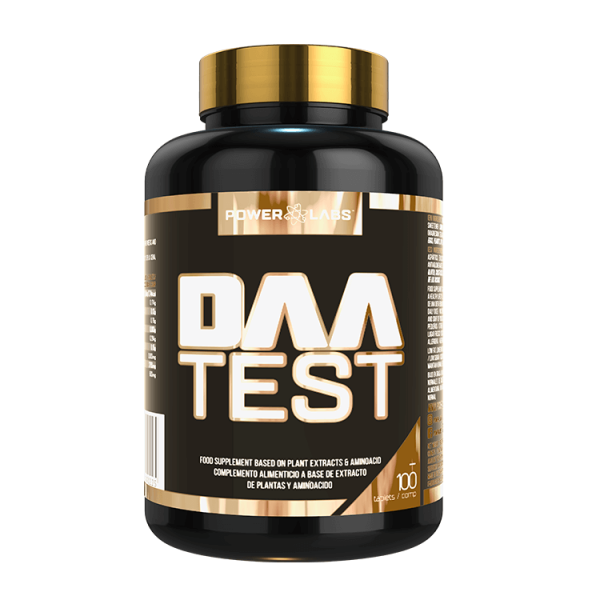 DAA Test de 120 tabletas del fabricante Power Labs (Complejos Testosterona)