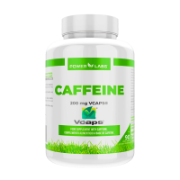Caffeine 200mg - 90 vegetable capsules Power Labs - 1