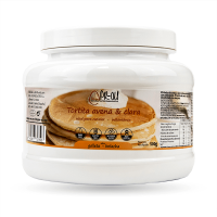 Oatmeal and egg white pancakes - 500g