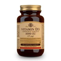 Vitamin d3 1000 iu - 100 tablets Solgar - 1