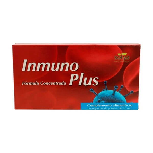 Inmunoplus - 10 vials Sotya Health Supplements - 1