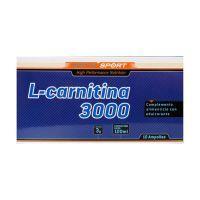 L-carnitine 3000mg - 10 vials Sotya Health Supplements - 1
