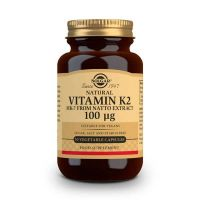 Vitamin k2 100mcg - 50 vegetable capsules