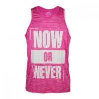 T-shirt tank now or never elastic-dry - VitoBest
