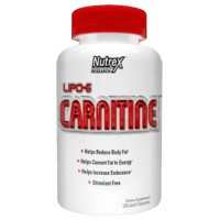 Lipo 6 Carnitine - 120 caps- Buy Online at MOREmuscle