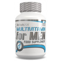 Multivitamin for men - 60 tabs - Biotech USA