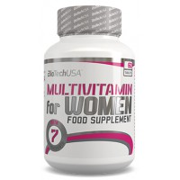 Multivitamin for women - 60 tabs - Biotech USA