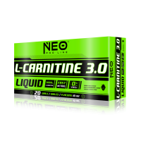 L-carnitine 3.0 - 20 viales- Buy Online at MOREmuscle