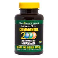 Commando 2000 antioxidant protection - 60 tablets