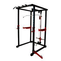 Squat cage with double pulley 3xl fsdx-50