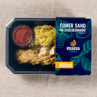 Zucchinis calabacin with chicken strips - Mana Foods ManaFoods - 1