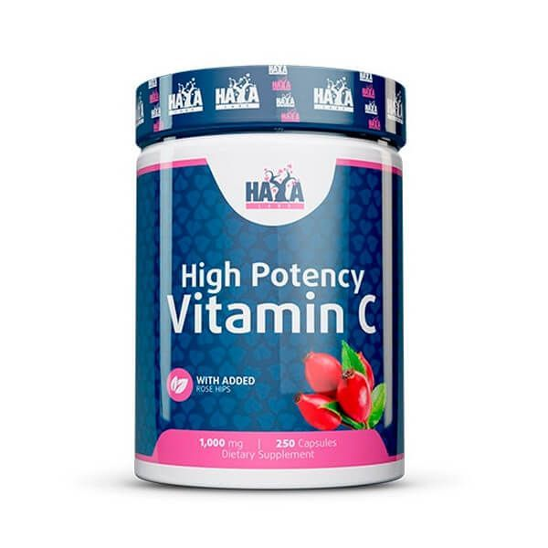 Vitamin C with High-powered Rose hips 1000 mg - 250 tabs