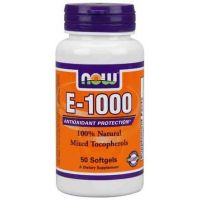 NOW Foods E 1000 UI - 50 softgel (Vitamina E)