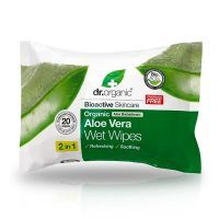 Aloe vera wet wipes - 20 wipes