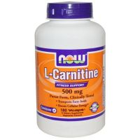Carnitine 500mg - 180 vcaps