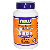 Flush free niacin 500mg - 90 vcaps- Buy Online at MOREmuscle
