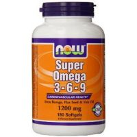 Super omega 3-6-9 1200mg - 180 softgel