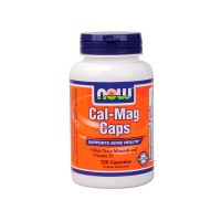 Cal + mag - 120 caps - Now Foods