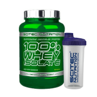 100% Whey Isolate - 2000g + Vaso Mezclador de REGALO