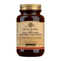 Brain works con full spectrum curcumin y bacomind - 60 licaps