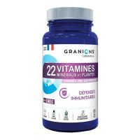 22 vitamins, minerals and plants - 90 tablets