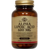 Alpha lipoic acid 600mg - 50 tabs