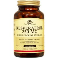 Resveratrol 250mg - 60 Softgel