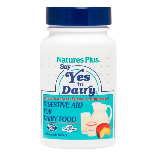 Say Yes to Dairy - 50 Tabletas masticables