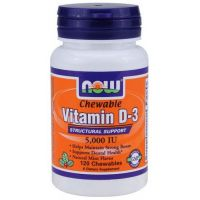 Vitamin d3 5000 iu chewable - 120 caps