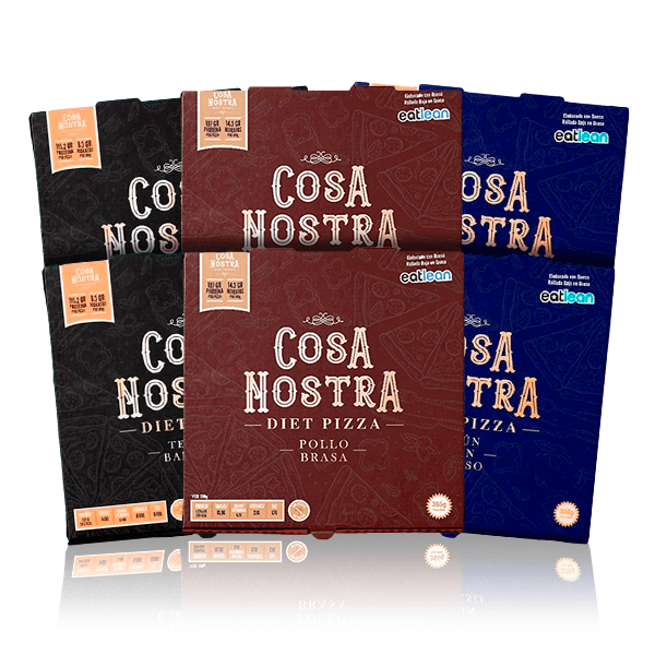 Pack 6 Diet Pizza Cosa Nostra