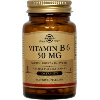 Vitamina B6 50mg - 100 Tabletas