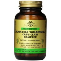 Echinacea / goldenseal / cats claw complex - 60 vcaps