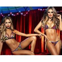Bikini babalu purple-green