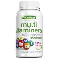 Multi Vitamineral - 60 Softgels - Quamtrax Essentials